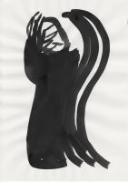Tusche auf Papier, 24×34cm