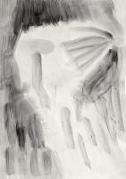 Tusche auf Papier, 29,7×42cm