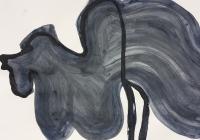 Öl auf Papier, 59,4 x 42cm
